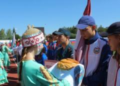Открытие Межрегиональных соревнований по пожарно-спасательному спорту