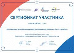 Дворец культуры «Салют» — участник Всероссийского конкурса волонтерских проектов