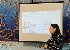 В ДК «Салют» состоялась встреча с представителем Регионального центра «серебряного» волонтёрства!